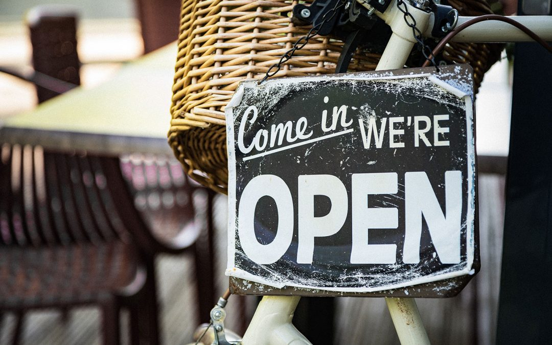 We Are Open!!!