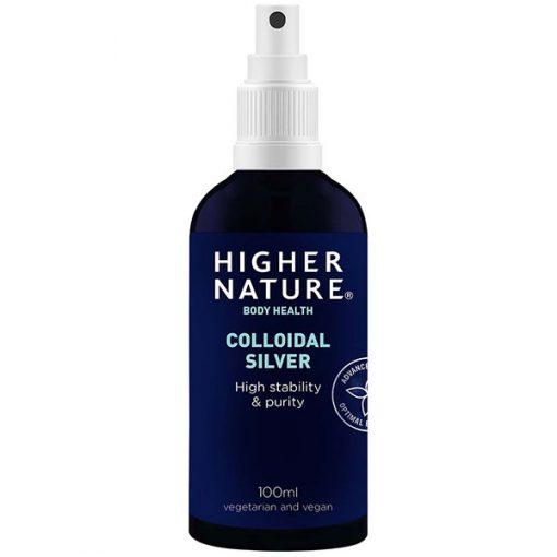 Higher Nature Colloidal Silver Spray