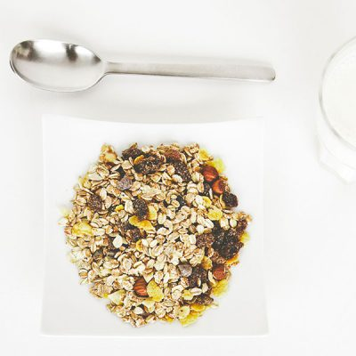 No wheat, no sugar muesli from The Healthy Way