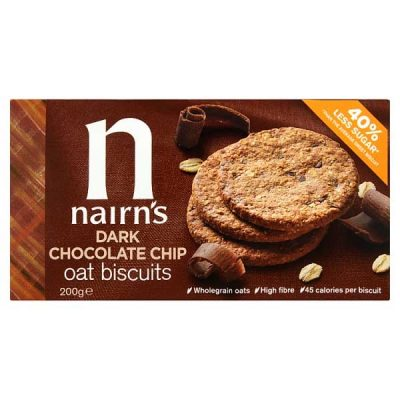 Nairn's Dark Chocolate Chip Oat Biscuits