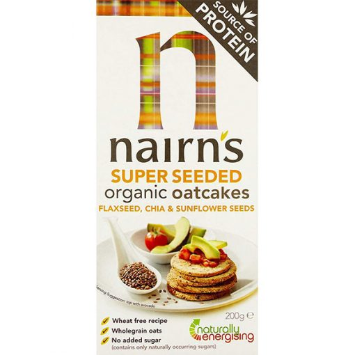 Nairn's Super Seeded Oatcakes